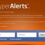 Facebookファンページの更新をメールで通知する「Hyper Alerts」