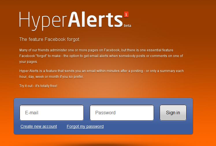 Hyper Alerts
