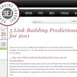 2011年に注意すべきリンク構築に関する6つのポイント