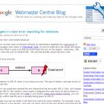 Googleウェブマスターツールでリダイレクトのエラーに関するデータの扱いが変更に