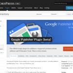 GoogleがウェブマスターツールとAdSenseのためのWordPressプラグイン「Google Publisher Plugin」を公開