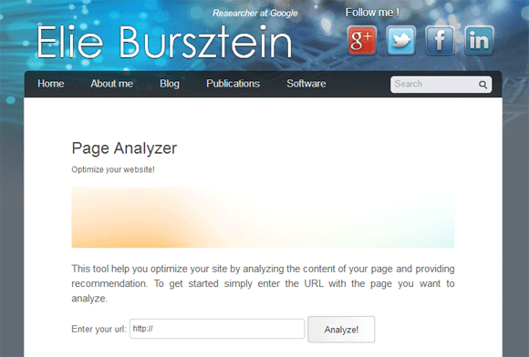 Page Analyzer