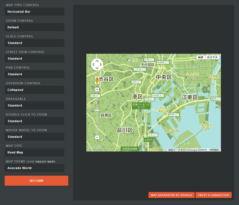 Google Mapをクールにカスタマイズできる「Google Map Builder」が便利!