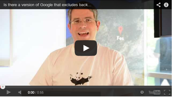 Is there a version of Google that excludes backlinks as a ranking fac