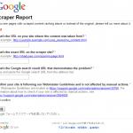 Googleが「スクレイピングサイト(コピーサイト)」の情報を収集